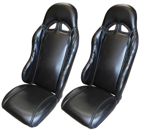 Padded Bucket Seat Set (2) for Go Kart