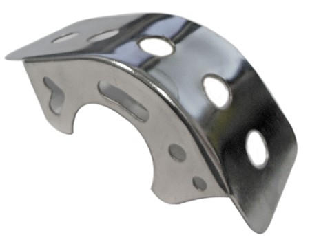 Chain Deflector for Go Kart or Minibike
