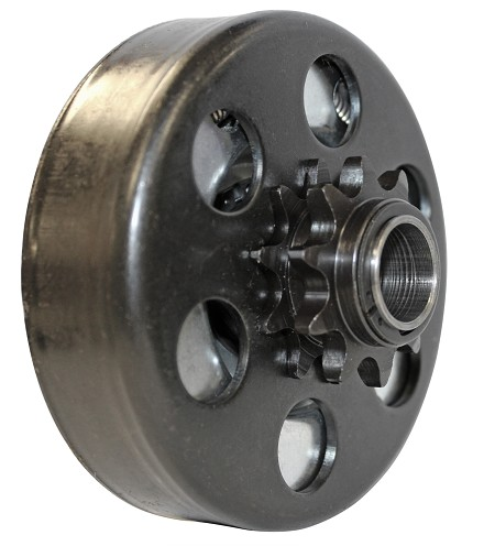 "Max-Torque SS Clutch - #41Chain, 10T with a 3/4"" Bore for Go Kart or Minibike"