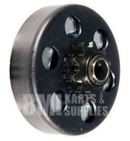 "Max-Torque SS Clutch - #35 Chain, 12T with a 3/4"" Bore for Go Kart or Minibike"