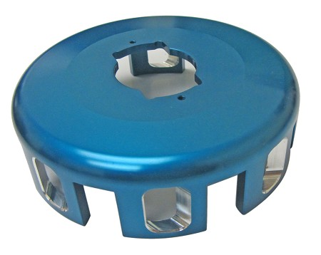Bully Aluminum Clutch Basket (3 disc)