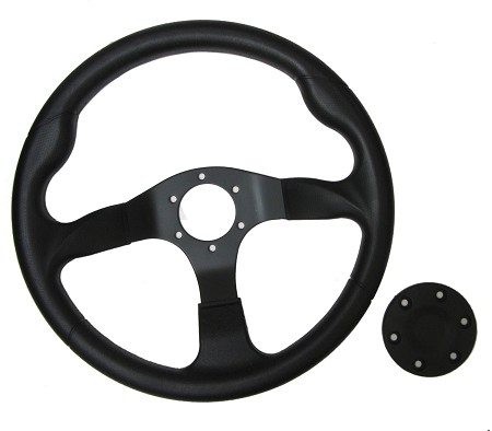 "14"" Steering Wheel with Cap"