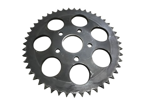 Rear Wheel Sprocket, 47T For Harley-Davidson Sportsters (1979-81) & 4 Speed Big Twins (1973+)