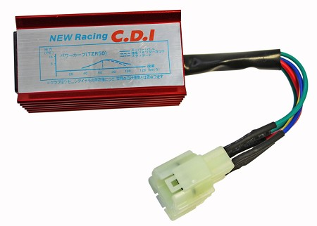 Racing AC CDI - 6 Pin (Red) for 50cc-150cc GY6 Engine