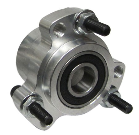 Lightened Aluminum Wheel Hub (Front)