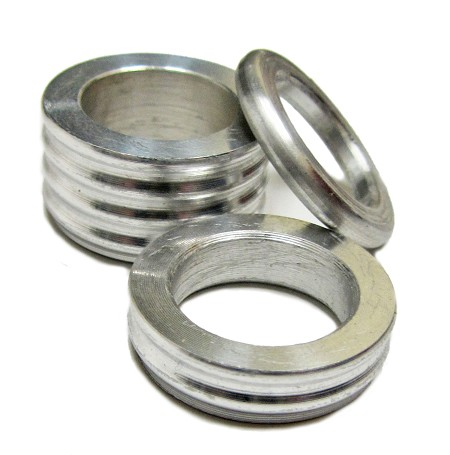 "5/8"" Aluminum Wheel / Spindle Spacer (1/8"" or 1/4"")"