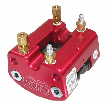 MCP Billet Hydraulic Brake Caliper  Red