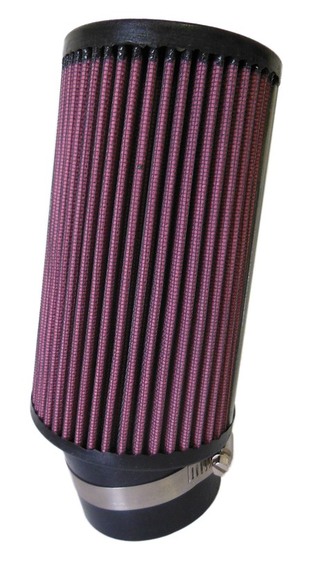 "Angled Fabric Air Filter, 2-7/16"" (Inlet) x 6"" (Tall)"