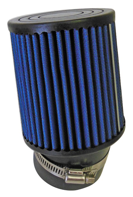 "Angled Fabric Air Filter, 2-7/16"" (Inlet) x 4"" (Tall)"