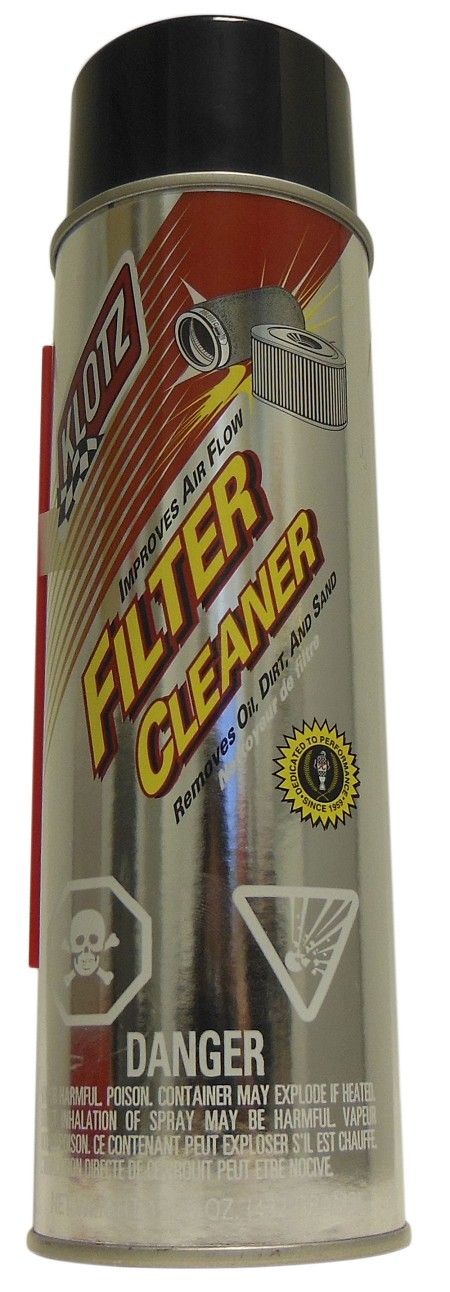 Klotz Spray Air Filter Cleaner
