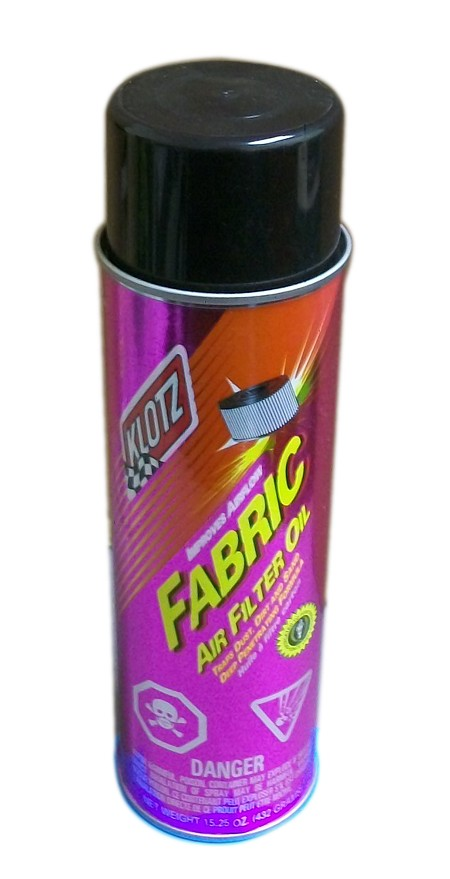 Klotz Spray Fabric Type Air Filter Oil