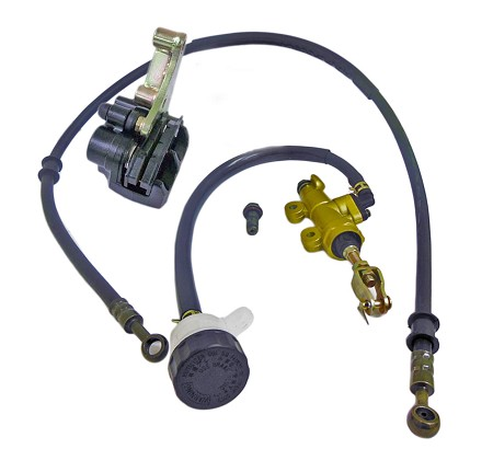 Hydraulic Brake Caliper & Master Cylinder Kit