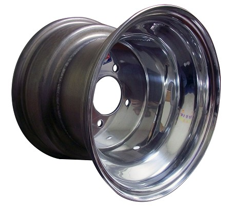 10 x 8 Douglas Polished Aluminum Wheel - Blue Label (4 on 4)