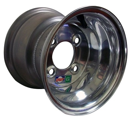 8 x 7 Douglas Polished Aluminum Wheel (4 on 4)