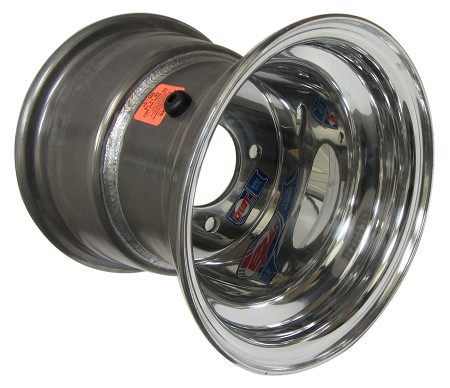 "8"" x 8"" Douglas Polished Aluminum Wheel (4 on 4)"