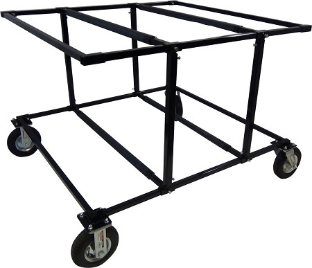 Ultimate Stacker Kart Stand with Wheels from KKP