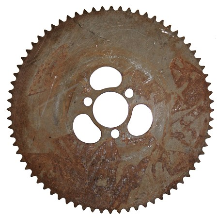 "72T #35 Sprocket  (2.08"" Bolt Circle)"