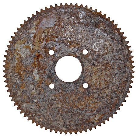 Sprocket #35 80T (3-1/2'' Bolt Circle)