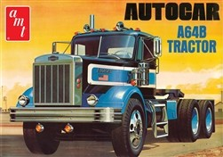 AMT Autocar A64B Semi Tractor 1:25 Scale Model Kit
