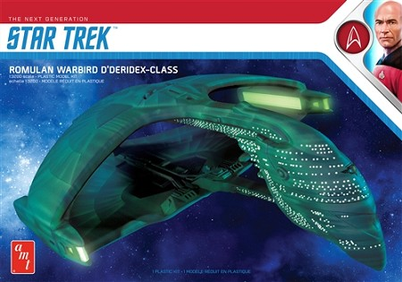 AMT Star Trek Romulan Warbird 1:3200 Scale Model Kit