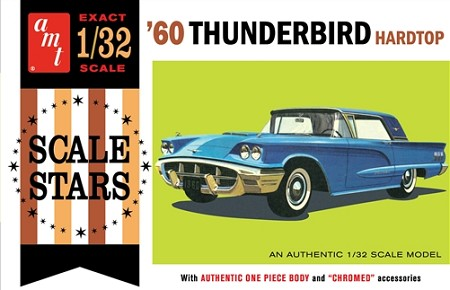 AMT 1960 Ford Thunderbird 1:32 Scale Model Kit