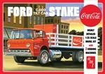 AMT Ford C600 Stake Bed w/Coca-Cola Machines 1:25 Scale Model Kit