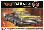 AMT 1963 Chevy Impala SS 1:25 Scale Model Kit