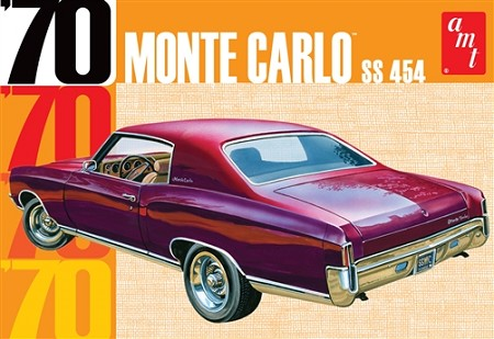AMT 1970 Chevy Monte Carlo 1:25 Scale Model Kit
