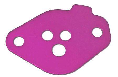"3-Hole Purple (.225"") Restrictor Plate for Briggs Animal Engine (WKA)"