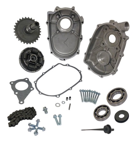 2:1 Reduction Gearbox Kit for Honda 6.5HP GX200 Engine (20mm)