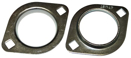 2 Hole Flangettes for 3/4'' ID Bearing