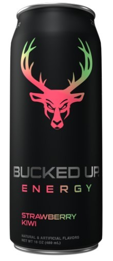 BUCKED UP Engery Drink (16 oz) - 300mg Caffine