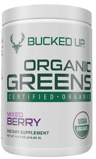 BUCKED UP Organic Greens Supplement (30 Servings)