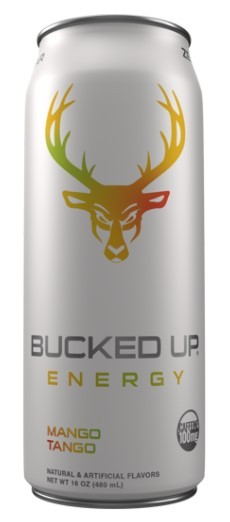 BUCKED UP Low Stimulus Engery Drink (16 oz) - 100mg Caffine