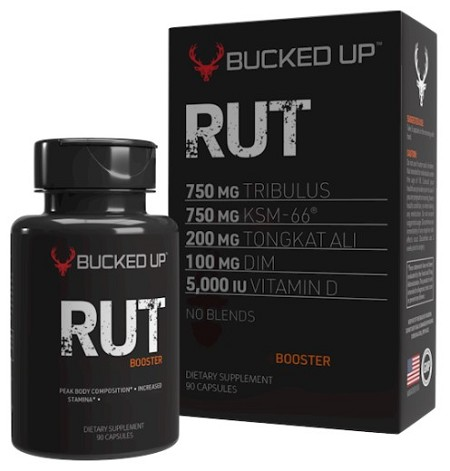 BUCKED UP RUT Testosterone Booster
