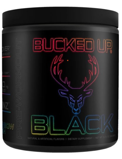 BUCKED UP BLACK Pre-Workout (30 Servings)