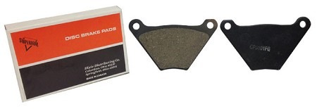 Brake Pads For Harley-Davidson Front/Rear FL & FLH (1972-79)