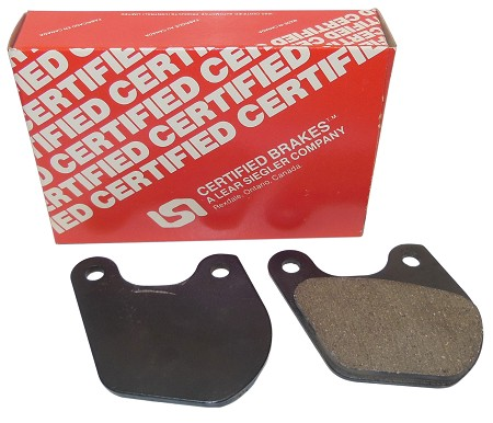 Certified Brake Pads For Harley-Davidson