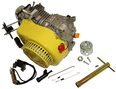 Yellow Clone 196cc OHV Racing Engine