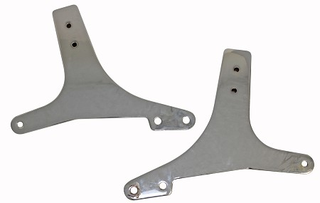 Sissy Bar Plates - Set of 2