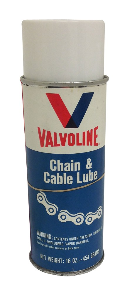 Valvoline Chain and Cable Lube