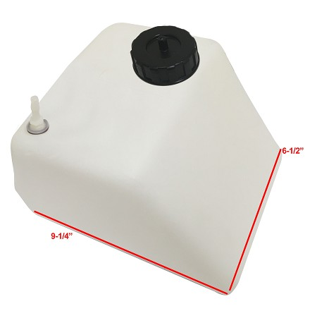G-Man 4 Quart Plastic Fuel Tank