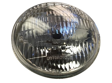 "Wagner Halogen Sealed Beam Headlight 5-3/4"" 12V 50/35 (4467)"