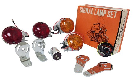 6V Turning Signal Kit for Harley-Davidson and Custom Choppers