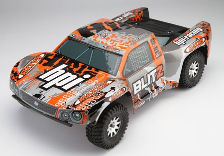 HPI Blitz Truck RTR W/ 2.4GHz - Brushed