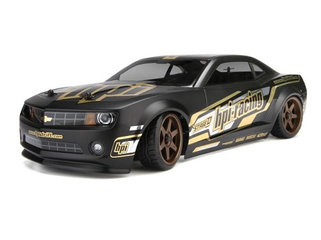 HPI Sprint 2 Drift Car 1/10 RTR 2010 Camaro Body - Brushed