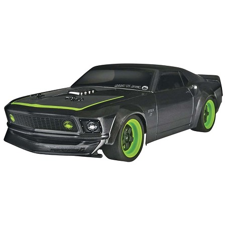 HPI Micro RS4 '69 Ford Mustang 1/18 4WD Electric RTR-X - Brushed