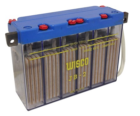 Wisco JB-2 Motorcycle Battery (12V)