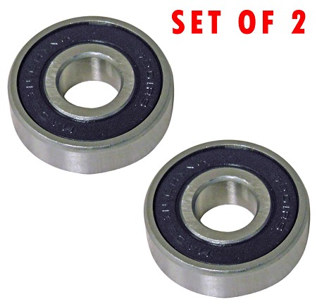 Set of Two High Speed Wheel Bearings (12 x 32 x 10)