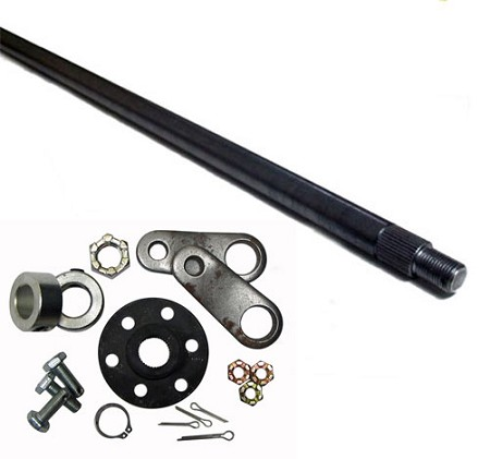Steering Shaft and Hub Assembly Unwelded